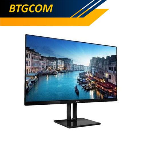 "Foto Produk AOC 27V2Q/70 27"" FHD IPS 1ms Freesync Ultra Slim Frameless LED Monitor dari BTGCOM"