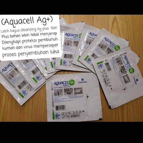 Foto Produk AquaCel Ag+ ag plus Extra ConvaTec 10x10cm USa dari Amanda Beauty Care