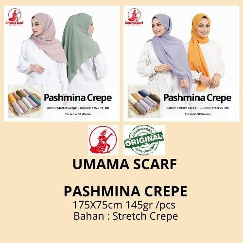 Foto Produk Jual PASHMINA CREPE by Umama Scarf RANDOM WARNA 21.500 pashmina polos dari Istanajilbabumama