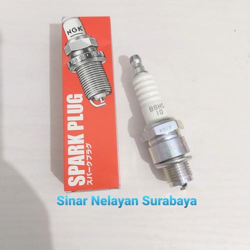 Foto Produk Busi B8HS-10 mesin tempel Yamaha 8pk-40pk. Suku cadang Yamaha. dari Sinar Nelayan Surabaya