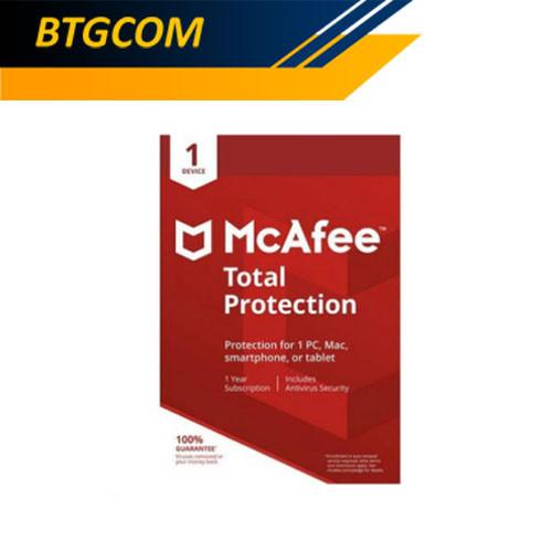 Foto Produk McAfee Total Protection Lite Version 1 Device Anti Virus dari BTGCOM
