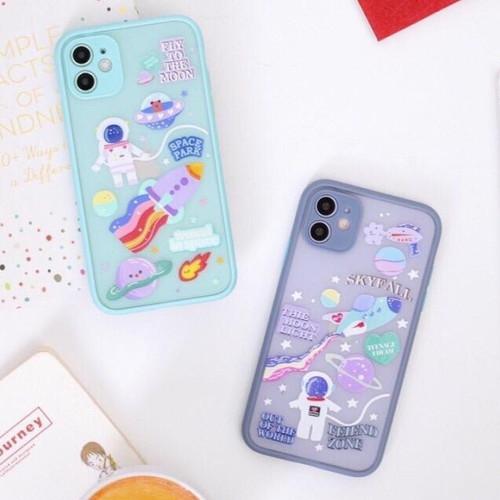 Foto Produk Hybrid Case Astronot Iphone 11 / 11 Pro / 11 Pro Max / Hardcase - Mint, iphone 11 dari Axcase Indonesia