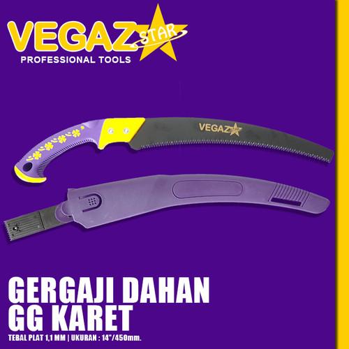 Foto Produk VEGAZSTAR - Gergaji Dahan / Gergaji Kopi Gagang Karet dari Vegaz-Tools