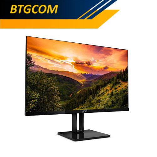 "Foto Produk AOC 24V2Q/70 24"" FHD IPS 1ms Freesync Ultra Slim Frameless LED Monitor dari BTGCOM"