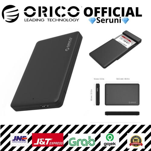 Foto Produk ORICO 2577U3 2.5 inch USB3.0 Hard Drive Enclosure dari serunicomp