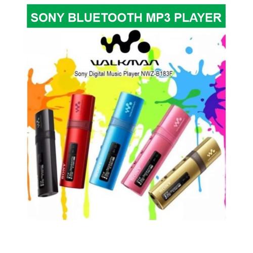 Foto Produk Sony NWZ-B183F Bluetooth MP3 Player 4GB - FM Recording - Flash Drive - Gold dari EtalaseBelanja