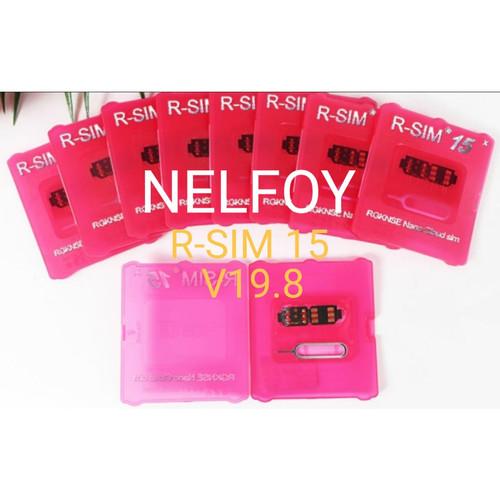 Foto Produk RSIM 14 IPHONE 11 Pro Max XS XR X 8 7 6S Plus IOS 13 15 16 R SIM dari Nelfoy