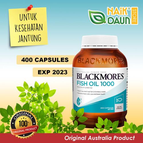 Foto Produk Blackmores Fish Oil 1000 - 400 Softgels (100% Australia) dari Naik Daun