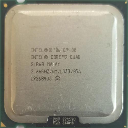 Foto Produk Intel Core2 Quad Processor Q9400 (6M Cache, 2.66 GHz, 1333 MHz FSB) dari Publican