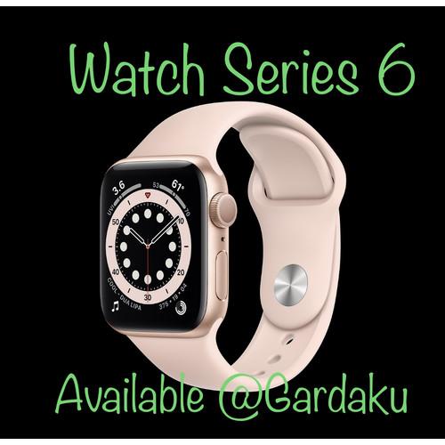 Foto Produk Ready Stock Apple Watch Series 6 40mm Aluminium GPS Sport Band - Space Gray dari gardaku