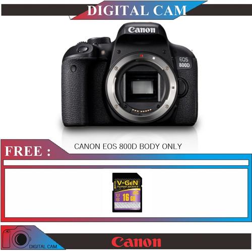 Foto Produk KAMERA CANON EOS 800D BODY ONLY dari Digital_cam