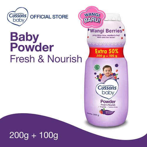 Foto Produk Cussons Baby Fresh & Nourish Powder 200gr Extra Fill dari Cussons Official Store