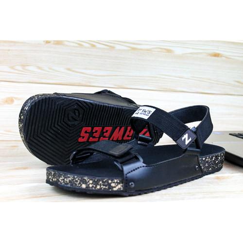 Foto Produk sandal terbaru pria/ sandal casual/ sandal terbaru - Hitam, 39 dari zawsfootwear