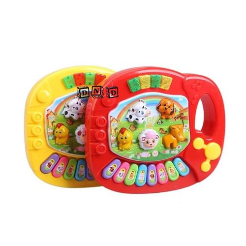 Foto Produk Mainan Anak Animal Farm Piano Suara Hewan Musik Peternakan Baby Toys dari Toko DnD