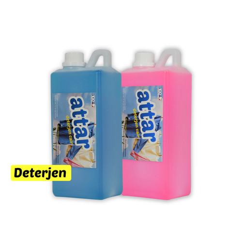 Foto Produk Sabun Deterjen Cair ATTAR 1 Liter - Laundry Detergent Cuci Baju dari Tasneem