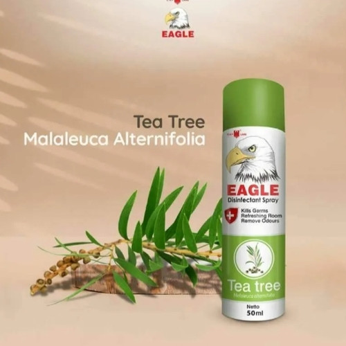 Foto Produk Eagle Spray Tea Tree Oil 50ml dari JAshop88