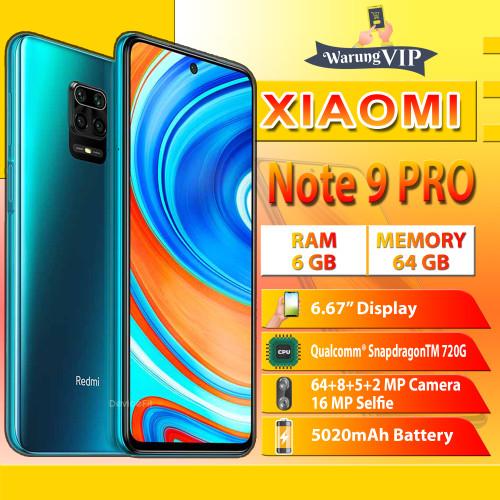 Foto Produk XIAOMI Redmi Note 9 Pro 6/64 RAM 6GB ROM 64GB Garansi XIAOMI INDONESIA - Hijau dari Warung VIP