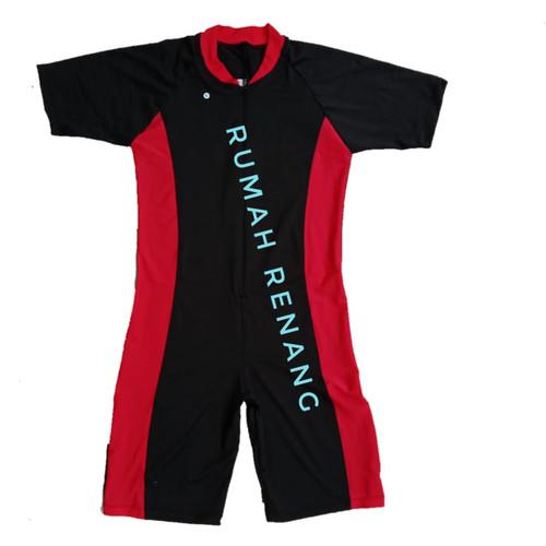 Foto Produk aju renang pria dewasa baju renang wanita dewasa Baju Renang Dewasa Ba - KOMBINASI MERAH, M dari Rumah Renang