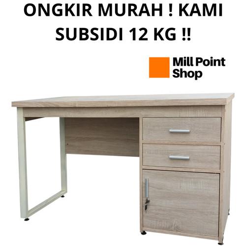 Foto Produk Meja Kantor Minimalis Kayu / Meja Kerja Office / Meja Tulis Belajar - MT 562 dari Mill Point Shop