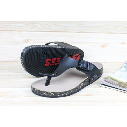 Foto Produk sandal jepit / sandal jepit pria/ sandal pria/ sandal casual - Hitam, 39 dari zawsfootwear