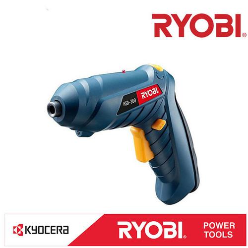 Foto Produk Ryobi HSD-360L Cordless Screwdriver Drill Bor Obeng Baterai Tanpa Kabe dari Palugada Distribusi