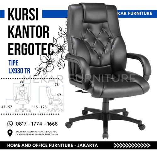 Foto Produk Kursi Direktur Ergotec - LX 930 TR - Kaki Nylon dari Mekar Furniture