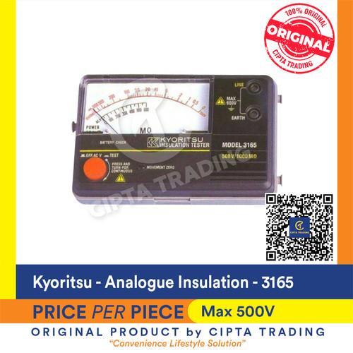 Foto Produk Kyoritsu 3165 Analogue Insulation Tester dari Cipta Trading
