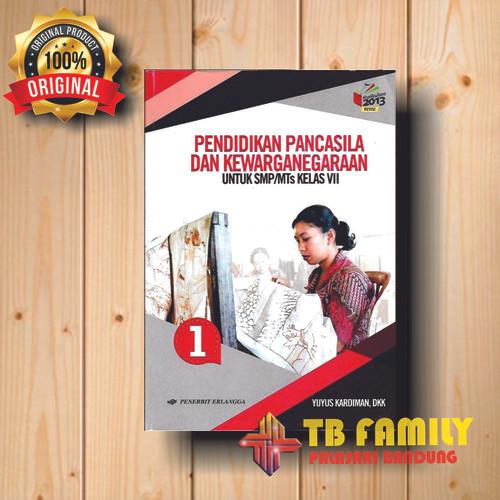Foto Produk Buku PPKN SMP kelas 7 penerbit ERLANGGA dari family_online