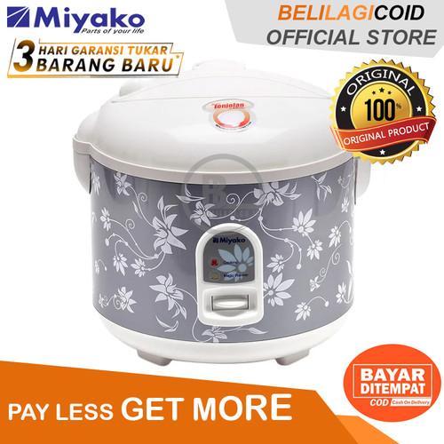 Foto Produk Miyako Magic Com MCM 528 / Rice Cooker MCM 528 - Silver - [1.8L] - Hitam dari BELILAGI.CO.ID