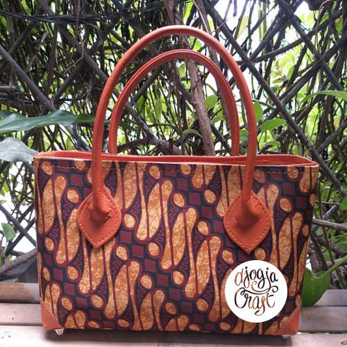 Foto Produk Tas Vinil motif Batik Medium dari Djogja Craft
