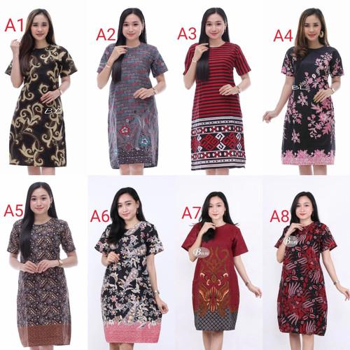 Foto Produk baju batik atasan wanita trendy dari Batik Awab