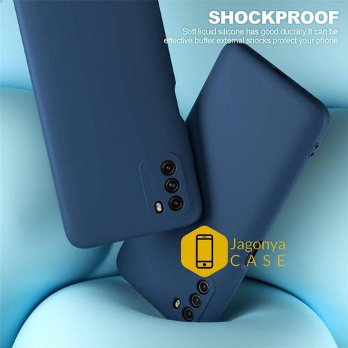 Foto Produk Original Liquid Silicone Case POCO M3 Softcase - Hitam dari Jagonya Case