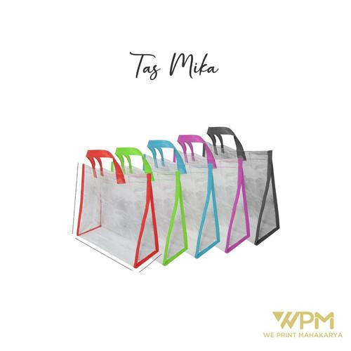 Foto Produk Tas Mika transparan uk 30 x 15 x 30 dari We_Print_Mahakarya
