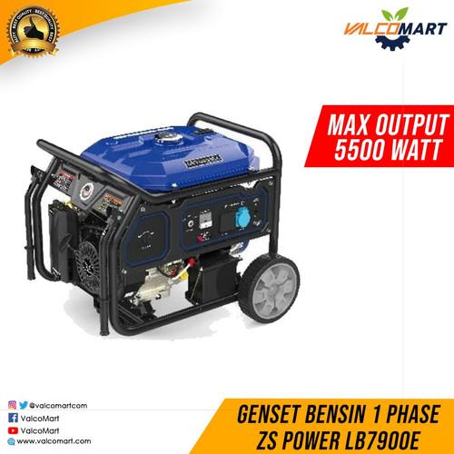 Foto Produk Genset Bensin 1 Phase ZS Power LB7900E 5KW-5.5KW Gasoline Generator dari Valco