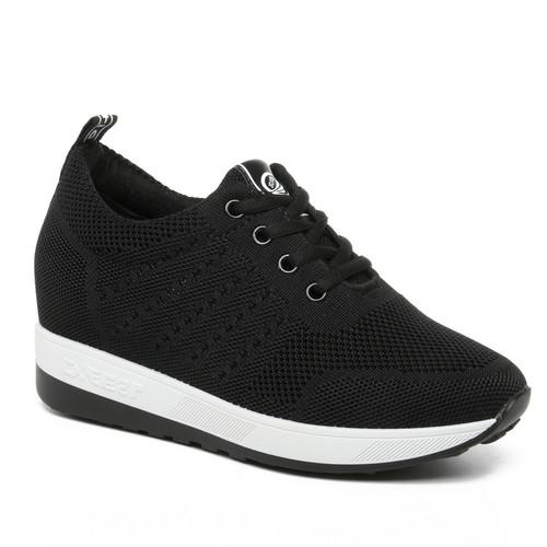 Foto Produk PVN Raina Sepatu Sneakers Wanita Putih Sport Shoes Black Tosca 045 - Black, 38 dari PVN Official Store