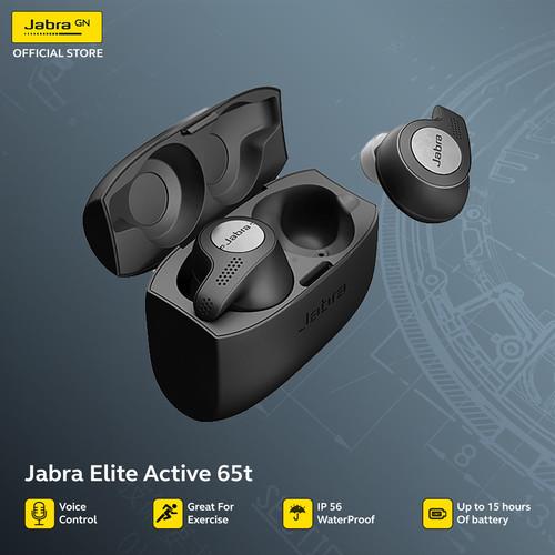Foto Produk Jabra Elite Active 65t Titanium Black Free Tumbler dari JABRA OFFICIAL STORE