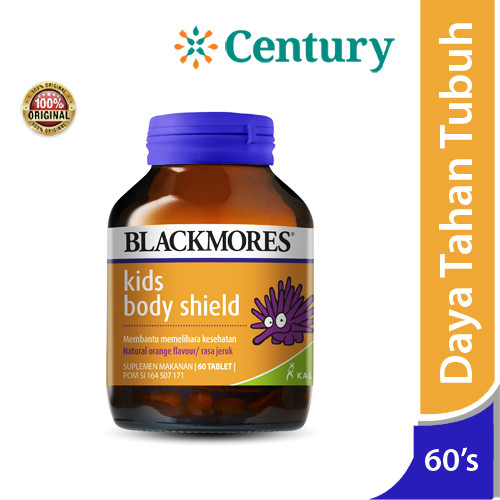 Foto Produk Blackmores Kids Body Shield 60 Tablet / VItamin Anak/Daya Tahan Tubuh dari CENTURY HEALTHCARE