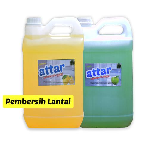 Foto Produk KHUSUS GoSend / Grab Pembersih Lantai ATTAR 5 Liter / Floor Cleaner dari Tasneem