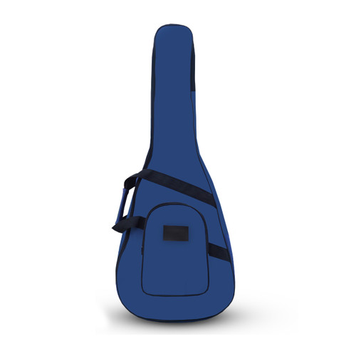 Foto Produk Tas Gitar Akustik 1/2 dan 3/4 / Softcase Gitar Akustik Kecil Tebal TGM - Biru dari _OMAHKREASI