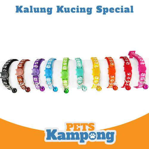 Foto Produk Kalung kucing dengan bel - Hitam dari Pets Kampong