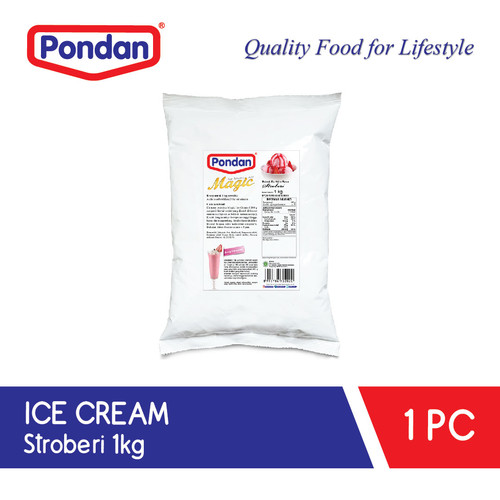 Foto Produk Pondan ice cream strawberry (bulky) dari Pondan Food
