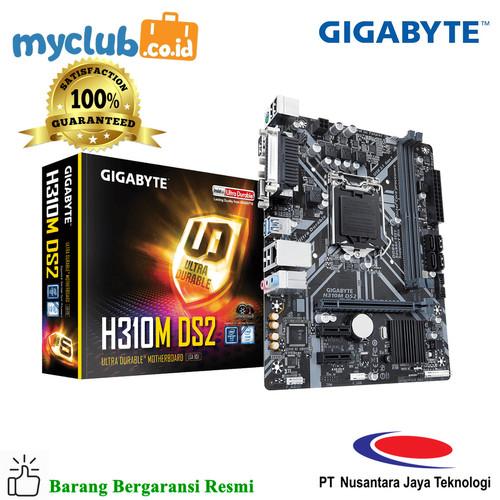 Foto Produk Gigabyte Motherboard H310M DS2 Socket LGA1151 2 x DDR4 Micro ATX dari Myclub