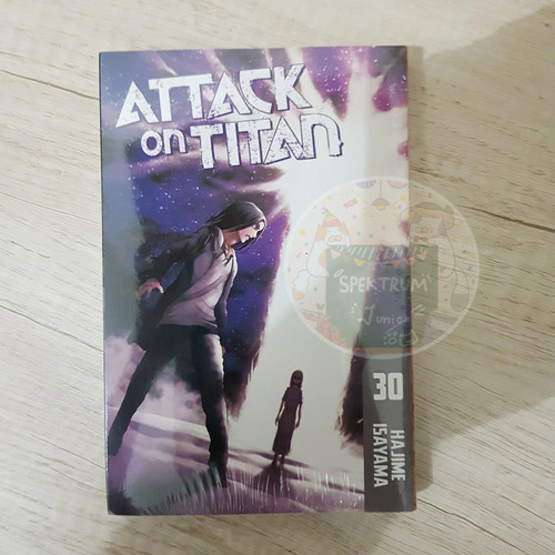 Jual Attack On Titan Vol 30 Manga Hajime Isayama Kab Bogor Spektrum Junior Tokopedia The next volume of the manga is set to release in japan, and now has officially revealed its cover. attack on titan vol 30 manga hajime isayama