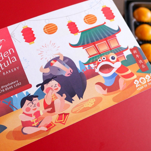 Foto Produk Cookies Box / Kue kering / Parcel imlek / CNY Hampers dari The Golden Spatula