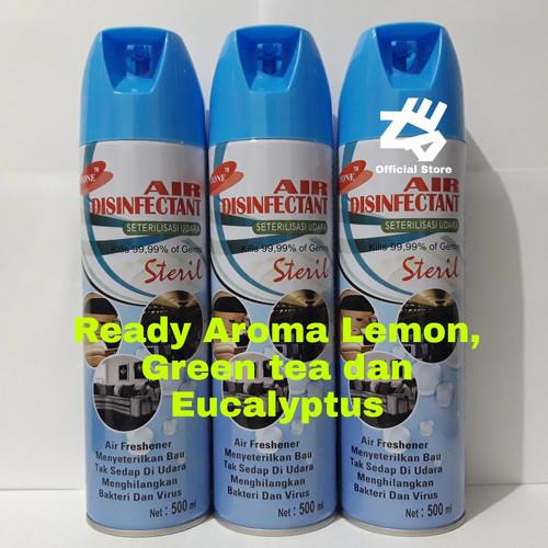 Foto Produk Air disinfectant spray 500ml (aerosol) - 500ml Lemon dari Kurniawanhajrianto