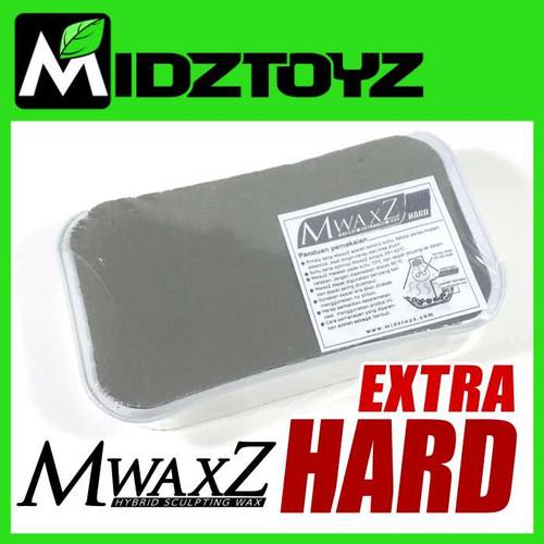 Foto Produk MwaxZ modeling & sculpting wax EXTRA HARD / Eksta Keras dari Midztoyz