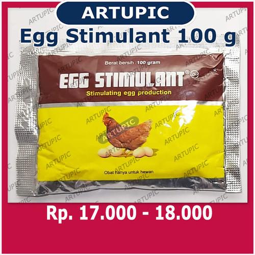 Foto Produk Egg Stimulant 100 gr Vitamin Multivitamin Pemacu Pemicu Produksi Telur dari ArtupicPeralatanPeternak