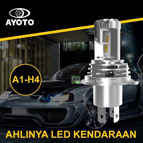 Foto Produk Lampu Led mobil headlamp utama Socket H4/HS1 hi/low 35+35watt AYOTO dari ayoto led store