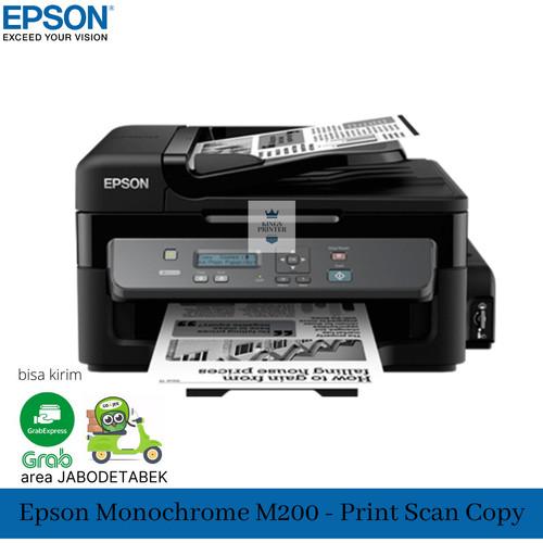 Foto Produk EPSON M200 Printer Monochrome / print scan copy dari Kings printer