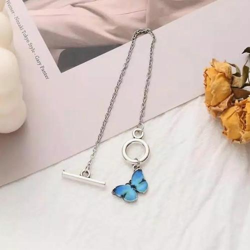 Foto Produk Gelang Kupu kupu Butterfly aesthetic Fashion wanita - Biru dari YuTamaStore